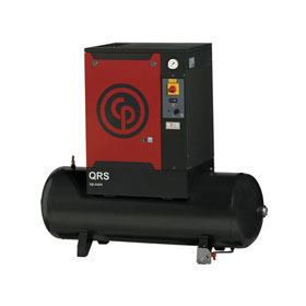 Chicago Pneumatic QRS 7.5HP 60-Gallon Rotary Air Compressor 1 Phase