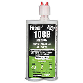 LORD Fusor® Metal Bonding Adhesive Medium 7.6 oz. 108B