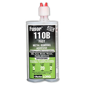 LORD Fusor® Metal Bonding Adhesive Fast 7.6 oz. 110B