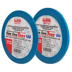 "hyStik Pro Grade Blue Fine Line Vinyl Tape 1/8"" X 108' HYST-150"