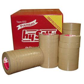 "hyStik Professional Grade Auto Masking Tape 1-1/2"" Roll 24/Box HYST-832"