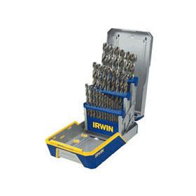 Irwin Cobalt M-42 Metal Index 29-Piece Drill Bit Set