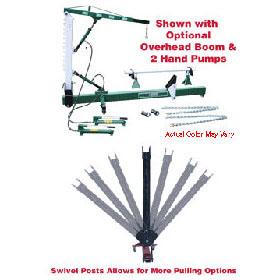 Jackco 10-Ton Body Straightener with Swivel 851