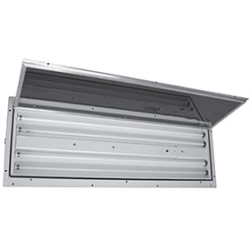 LDPI 4-Tube Light Fixture with Front Access