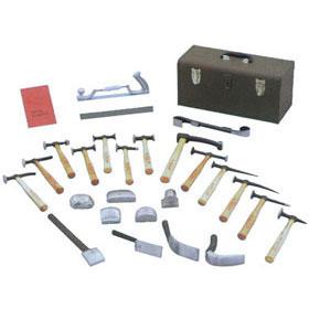 Martin 27-Piece Body & Fender Repair Tool Set with Wood Handles 692K