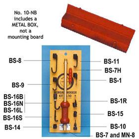 Morgan No. 10 Nokker Kit in Metal Box MORG-10-NB