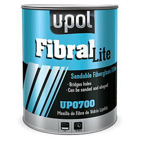 U-Pol Fibral Lite Sandable Fiberglass Putty Filler UP0700