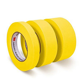 3M™ Masking Tape 388N -18mm Rolls, 12/sleeve 06652