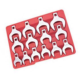 Advanced Tool Design 14-Piece Jumbo Crowfoot Set 1420