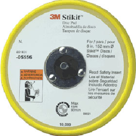 """3M™ Stikit Low Profile 6"""" Disc Pad 05556"""