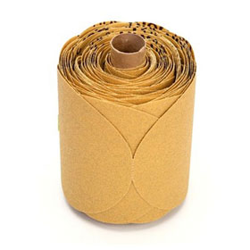 "3M™ Stikit 5"" Gold Discs - 125 Disc Roll P80A"