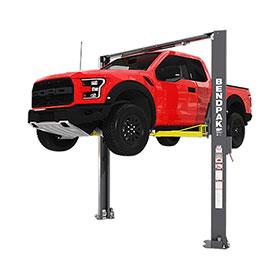 BendPak 10,000 lb. High Rise Asymmetric Lift with Screw Pads - XPR-10AXLS