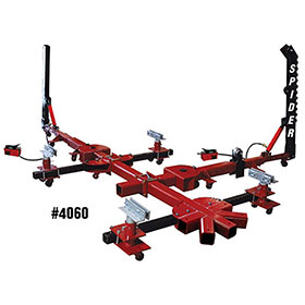 Champ Spider Portable 10-Ton, 4-Clamp Frame Straightener