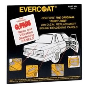 Evercoat Q-Pads Sound Deadening Panels 116