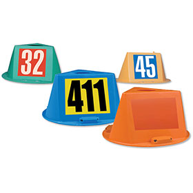 Magnetic Car Hats 0–999