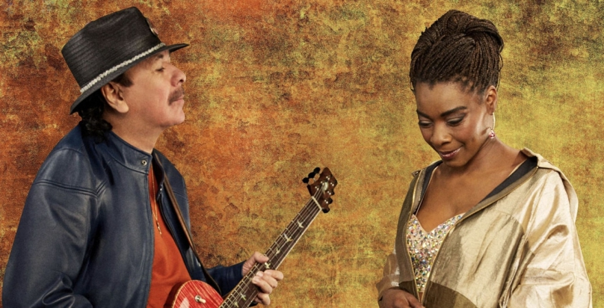 """Carlos Santana makes magic with the singer Buika on his latest release """"Africa Speaks."""""""