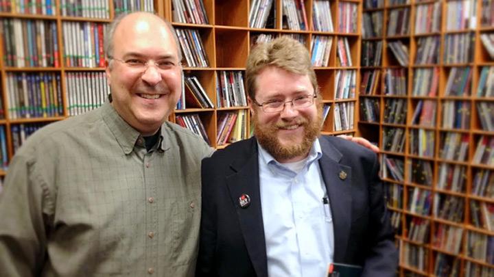 Mike Goldberg and David Sinden