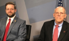 Evan Feinman Executive Director, Virginia Tobacco Commission and Senator Frank Ruff  Vice Chairman, Virginia Tobacco Commission.
