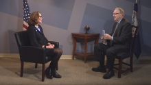 David Bailey is joined by Kathy Spangler Director of American Evolution 2019 Commemoration.