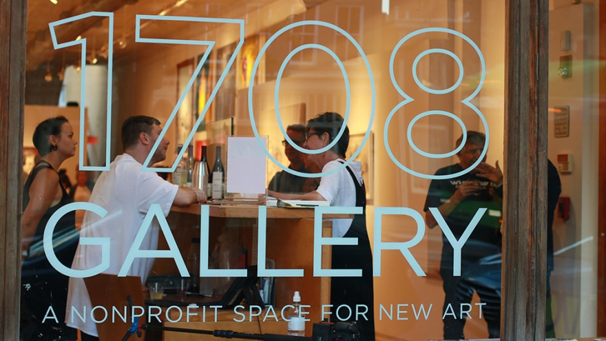 "1708 Gallery celebrates 40 years as a non-profit art space that ""redefined traditional boundaries."