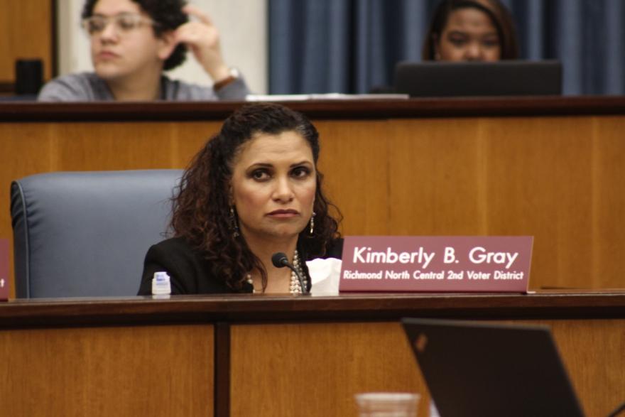 Council woman Kim Gray, who represents North Central Richmond, sponsored the ordinance renaming Boulevard as Arthur Ashe Boulevard.