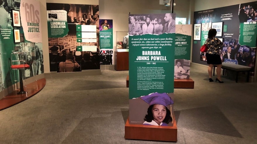 Black experience exhibition at the Virginia Museum of History & Culture