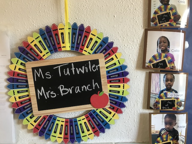 Ms. Tutwiler's class was one of four preschool classes added in Petersburg Public Schools through a four-year federal grant.