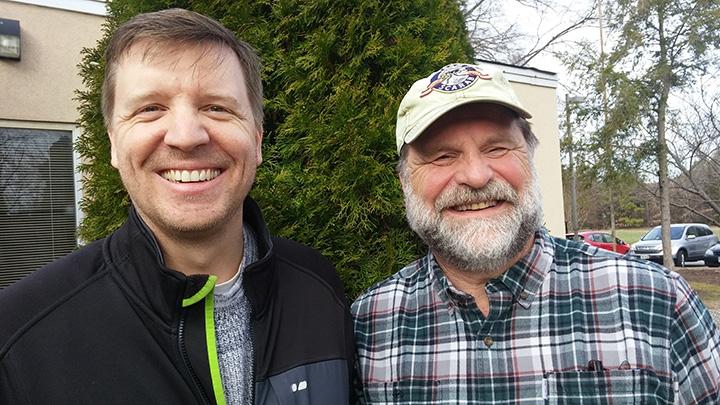 Dr. Jory Brinkerhoff and Dr. Art Evans