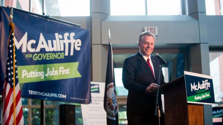 Terry McAuliffe at Campaign kickoff