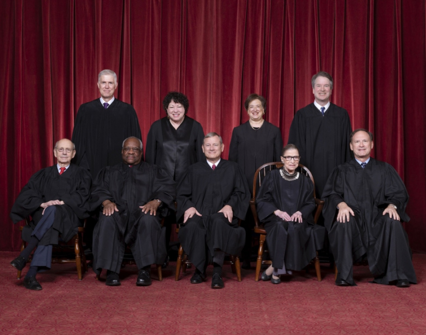 The current justices of the Supreme Court