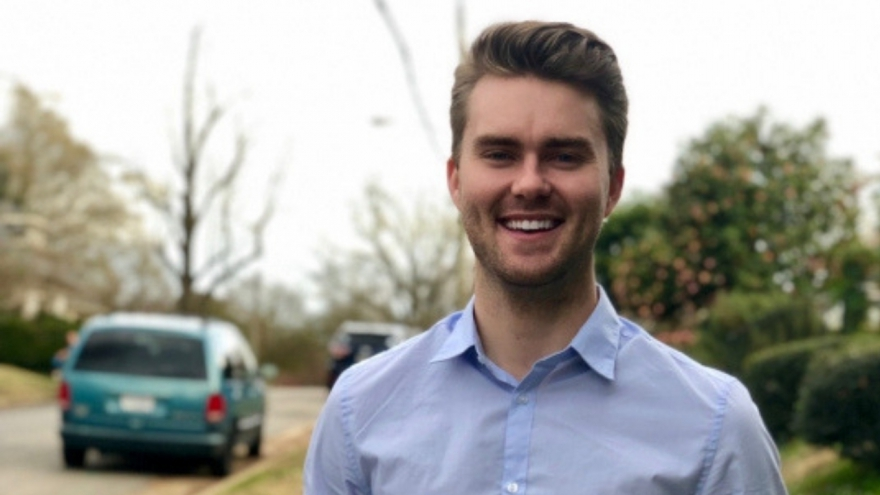 Zachary Brown is challenging Republican incumbent Glen Sturtevent in the 2019 state Senate race.