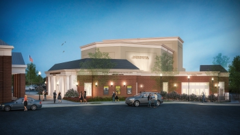 Render of new arts center