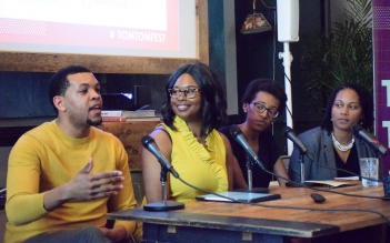 Tom Tom Festival panel discussing the importance of role models creating equity in American education