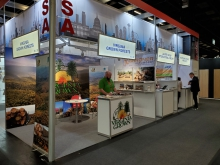 Virginia Exhibit at the Interzum Exhibition, Cologne, Germany