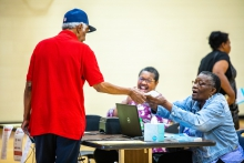Voters cast their ballot in Richmond in Tuesday's primary