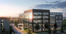 """The Henrico County Board of Supervisors last night approved a five-story, 150 thousand square foot office complex Kinsale Capital Group plans to build on more than five acres at  Maywill and Thalbro Streets in what they are calling """"Scott's Addition 2.0."""""""