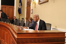 Fourth District Democratic Congressman Don McEachin yesterday led a bi-partisan group of House members introducing a bill to crack down on robocall violators.