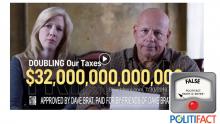 Brat's $32 Trillion Tax Claim Rings False