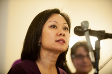 Freshman Del. Kathy Tran (D-Fairfax) introduced a bill to remove requirement that three doctors sign off on a third-trimester abortion.