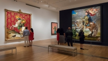 Installation view of Kehinde Wiley: A New Republic presented at the Virginia Museum of Fine Arts in Richmond, June 11–Sept. 5, 2016.