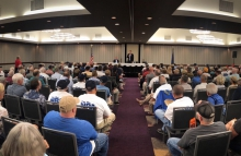 NRA members at a town hall in Virginia Beach. (Photo: NRA)