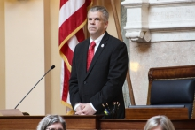 House Speaker Kirk Cox prevented a vote on an amendment that would have banned hand-held cellphone use on Virginia roads.
