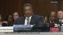 The Senate is expected to confirm the nomination later today (Monday) of Judge Rossie Alston, Jr., to the Eastern District Court of Virginia