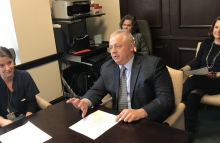 Riggleman heard from anesthesiologists and other UVA doctors.