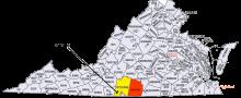 Virginia state mining locations