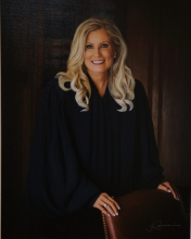 Judge Teresa M. Chafin Photographic portrait 2015