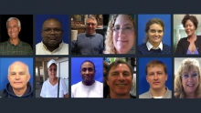 images of the 12 victims of Friday's mass shooting