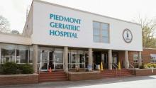 Piedmont Geriatric Hospital Exterior.