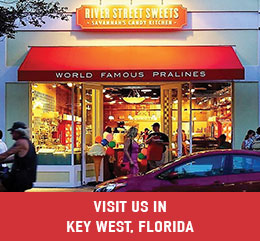 Key West Florida Candy Store and Ice Cream Shop
