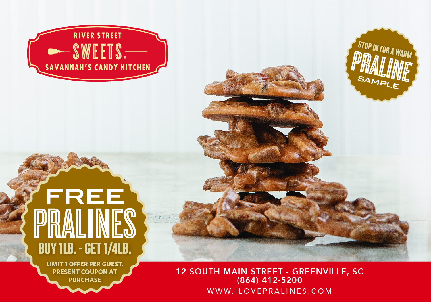 I Love Pralines | Handmade Southern Candy